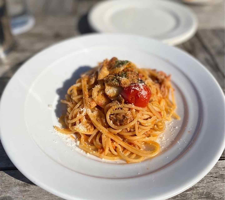 【葉山】フランス風なのに愛犬と地元の食材もいただける♪ 『レストラン ラ・マーレ』 パスタ