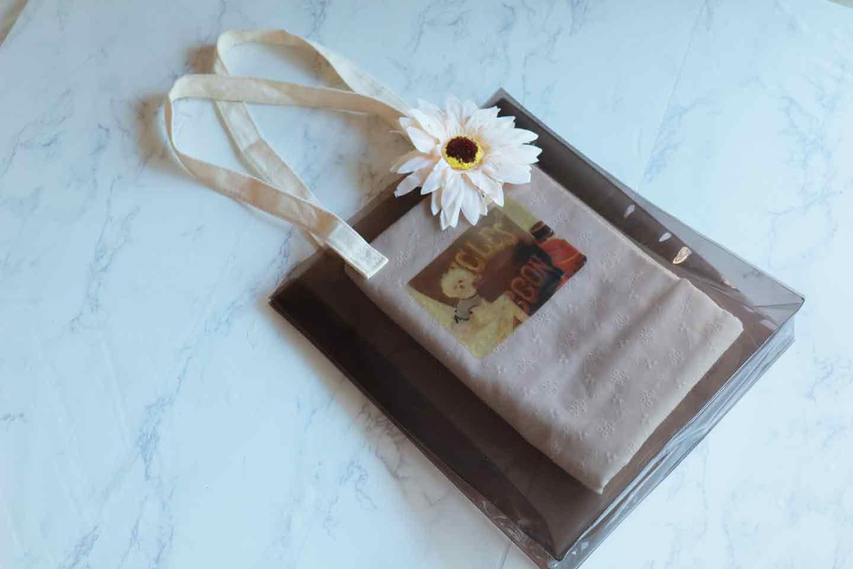 愛犬の透明シールの作り方 クリアバッグに貼ってアレンジ リメイク