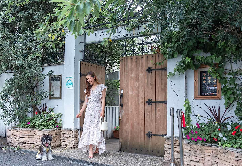 【神楽坂】都会の水上レストラン♡愛犬と癒される『CANAL CAFE』