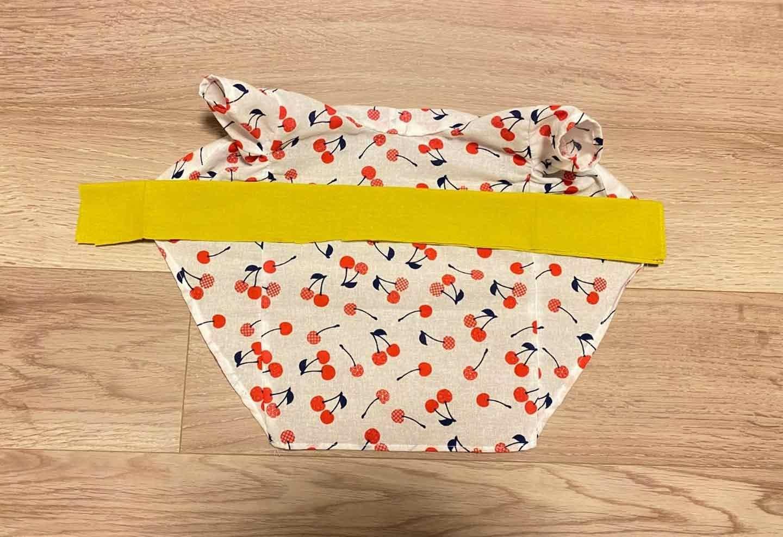 超簡単な愛犬用の浴衣の作り方 帯を作る