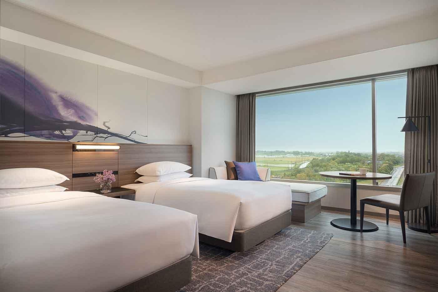 琵琶湖マリオットホテルのドッグフレンドリールーム