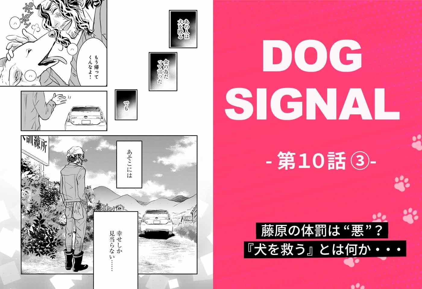 『DOG SIGNAL』10話目 3/4