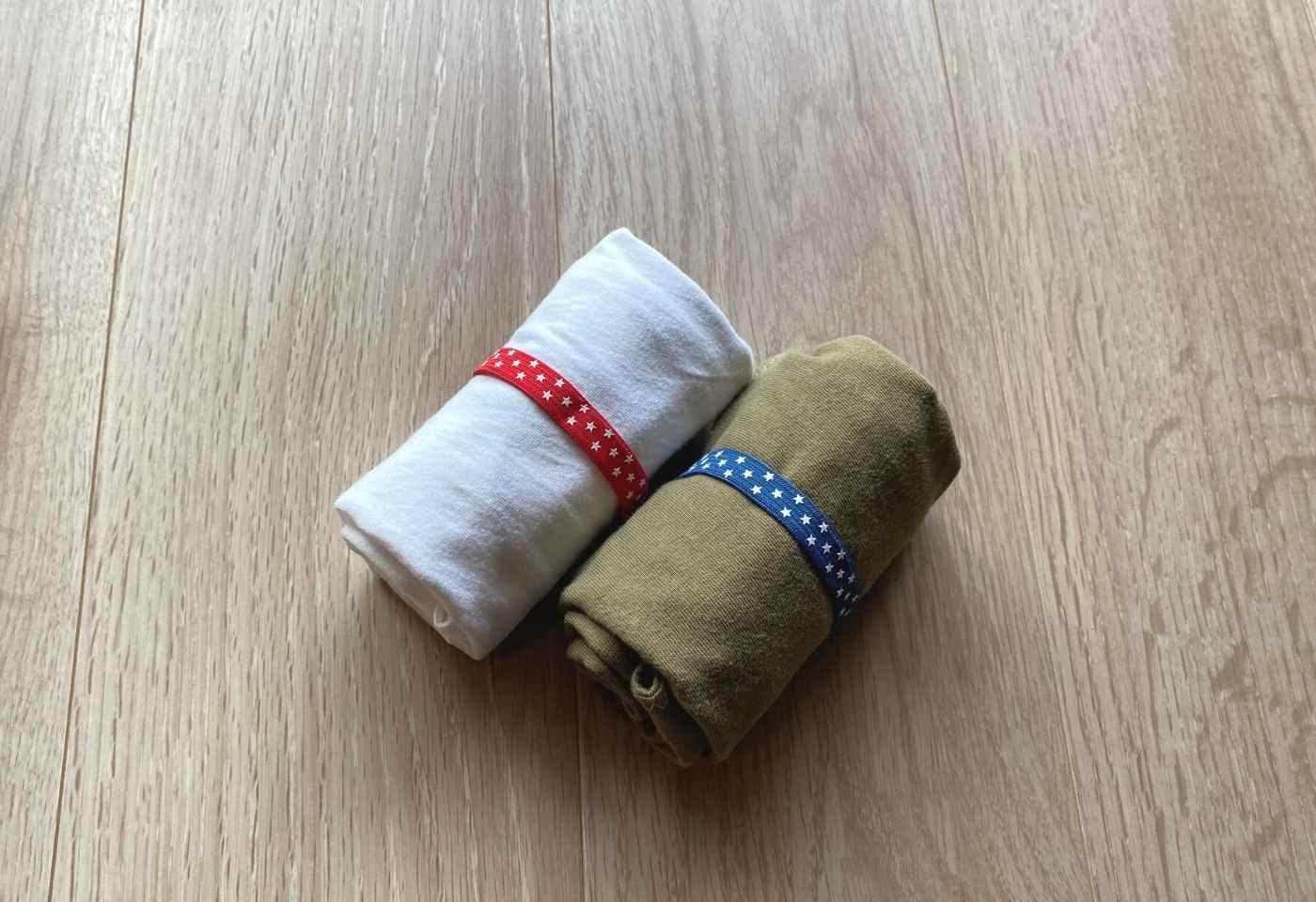 愛犬用Tシャツカフェマット コンパクトに折り畳める