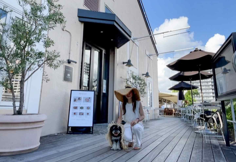 【天王洲】運河で優雅にパン活♡愛犬とのんびり過ごせる『breadworks』
