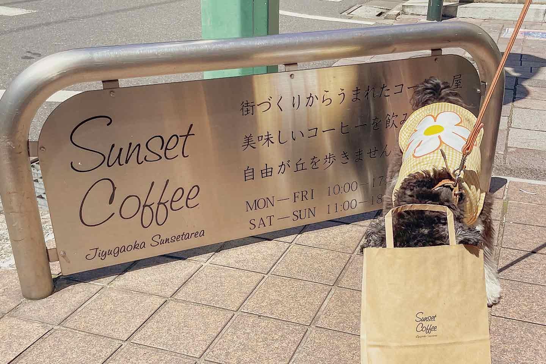 『Sunset Coffee』 お土産にシフォンケーキ