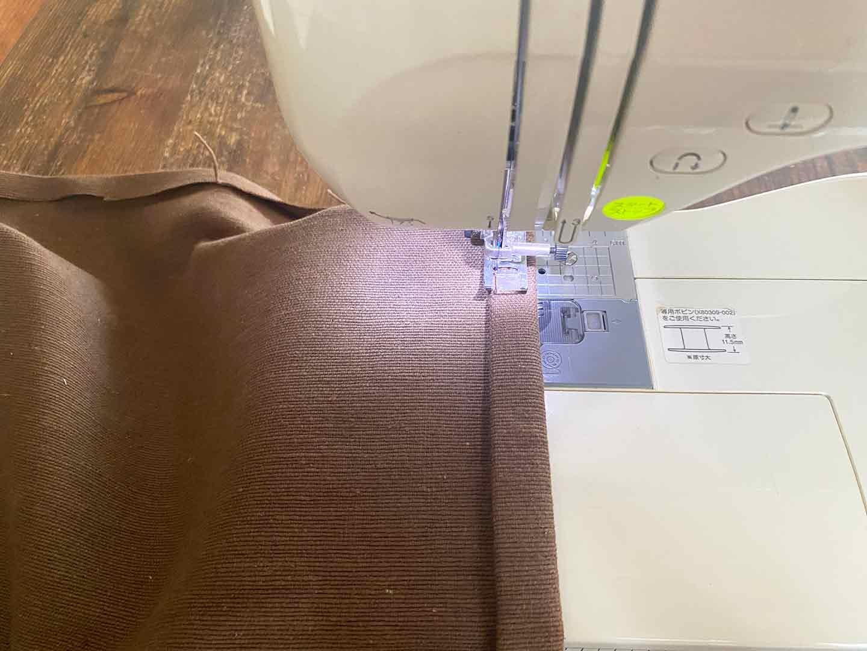 お手軽な愛犬用ドッグコットの作り方 布を縫う