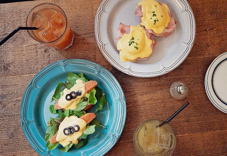 BONDI CAFE NAKAMEGURO  モーニングメニュー