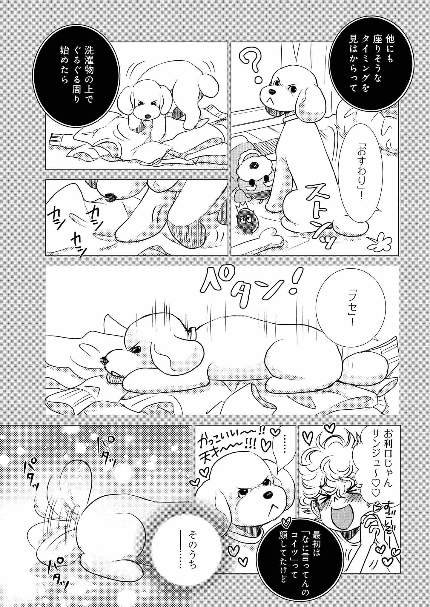 『DOG SIGNAL』12話目④ 3ページ目