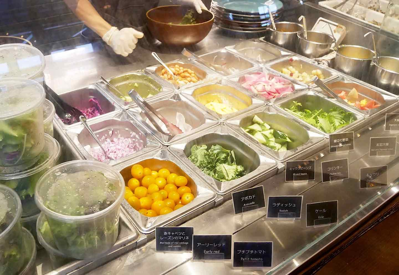 『ファーマーズキッチンザグラム』 サラダ チョイス野菜