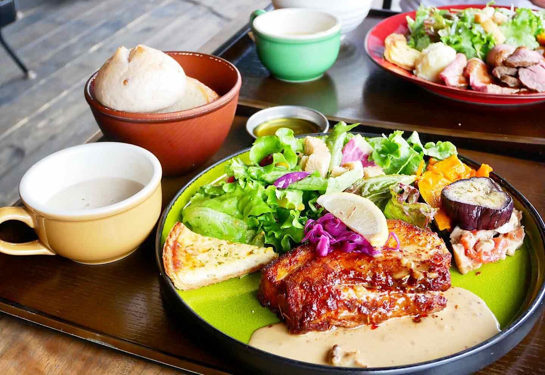 『ファーマーズキッチンザグラム』 オーガニック食材 ランチ