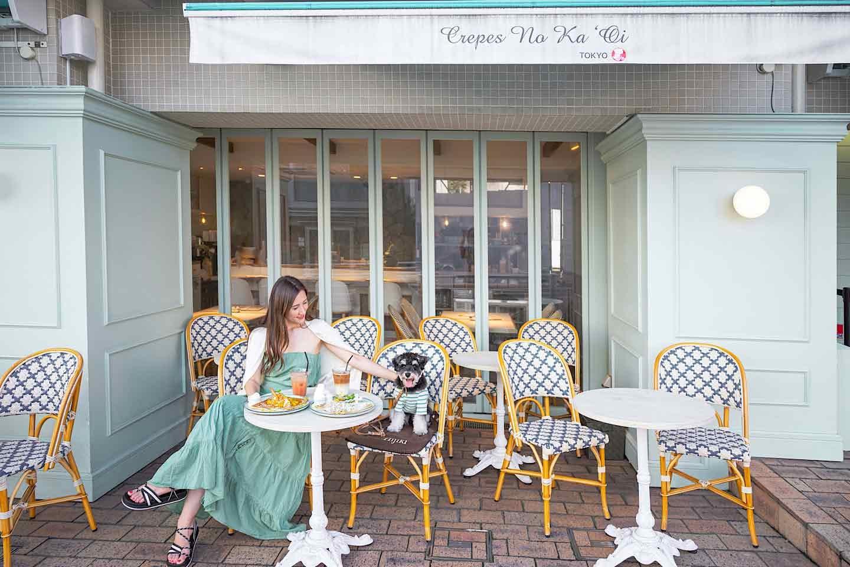 ハワイ×フランスを愛犬と体験♡『クレープス ノカオイ 』