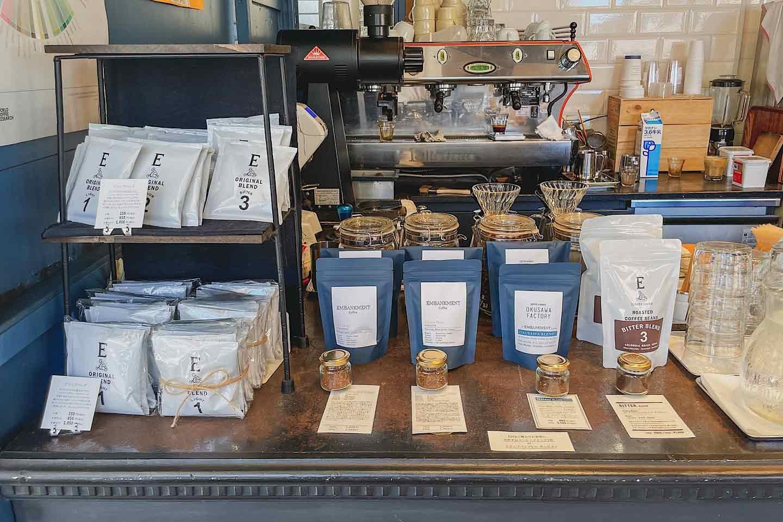 『OKUSAWA FACTORY Coffee & Bakes』 コーヒー販売