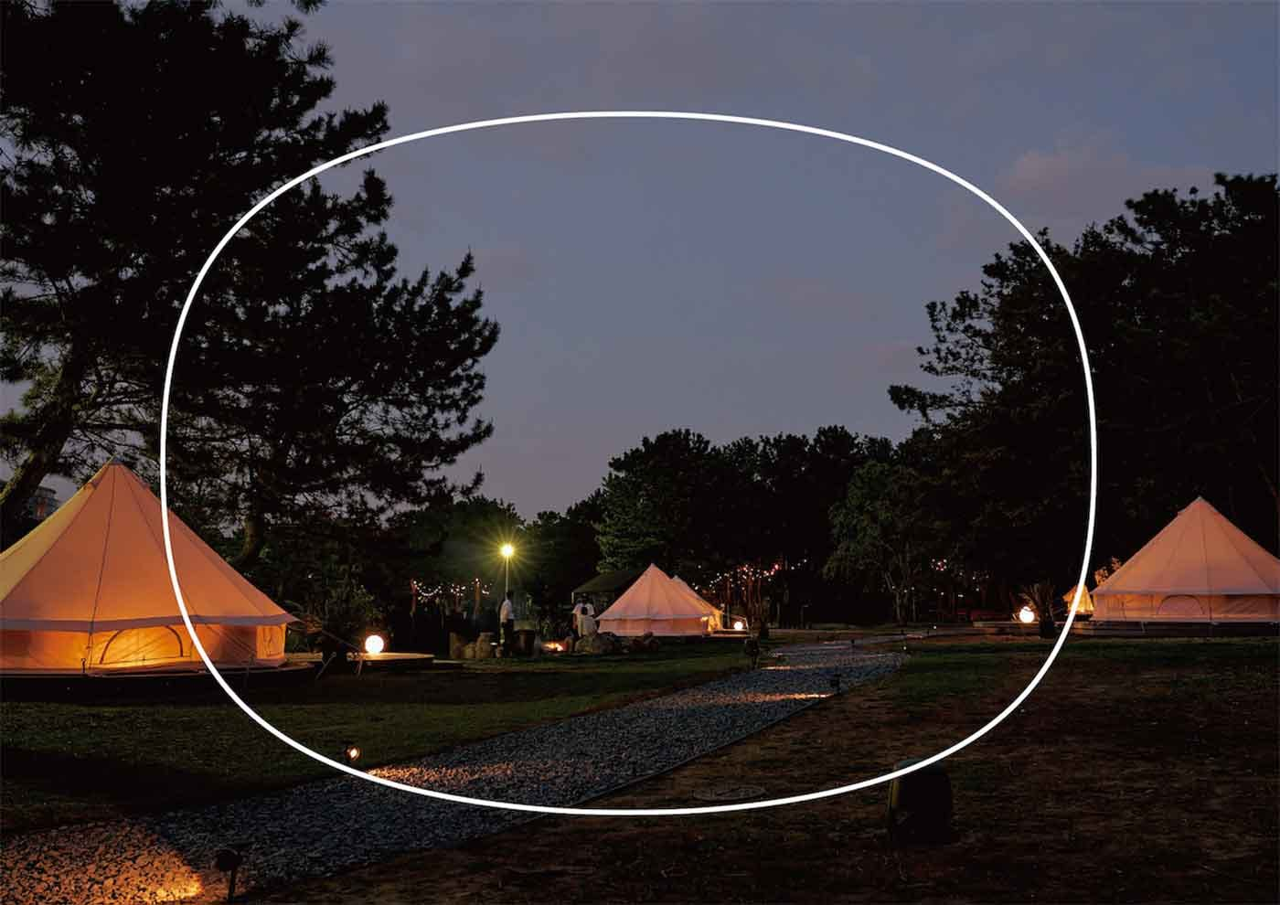 small planet CAMP & GRILL の外観
