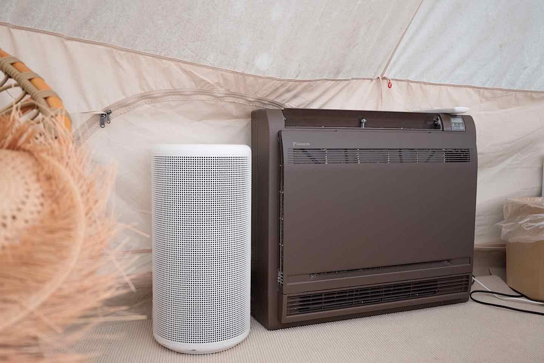 冷暖房・空気清掃器 完備