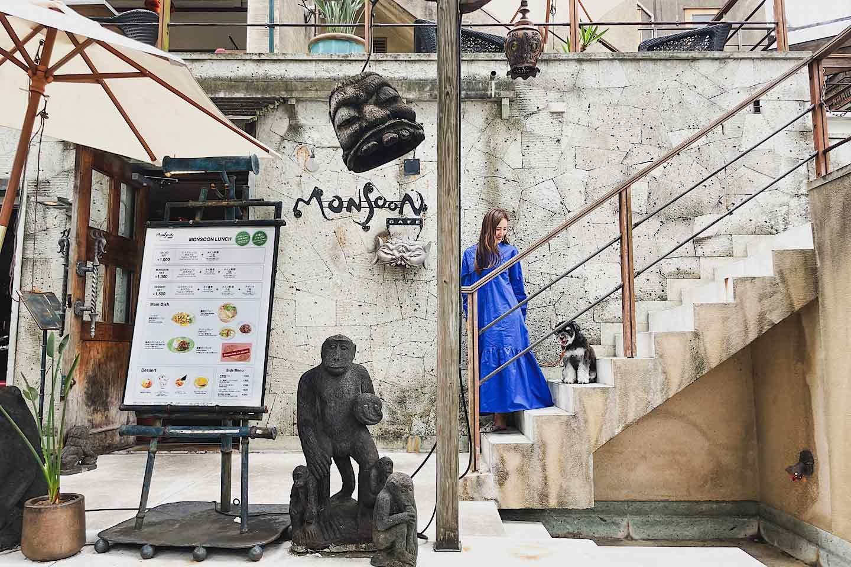 『モンスーンカフェ 代官山』愛犬と異国感たっぷりのエスニック料理を堪能♡