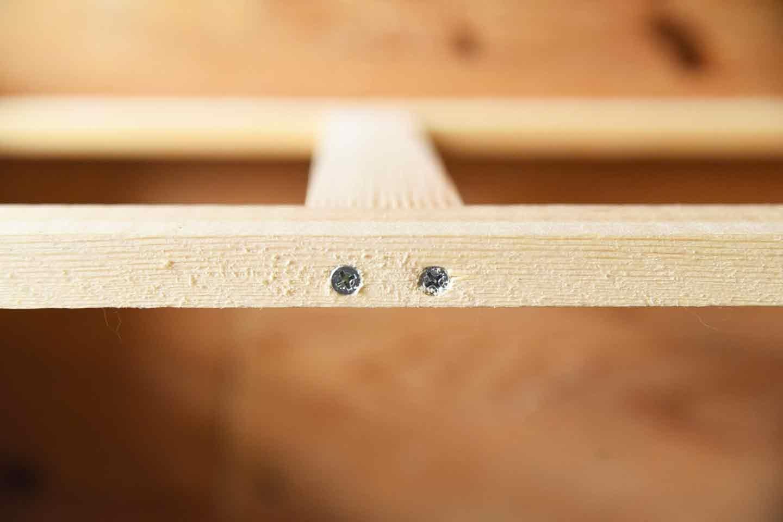 愛犬のための開閉ゲート扉の作り方 枠を組み立てる