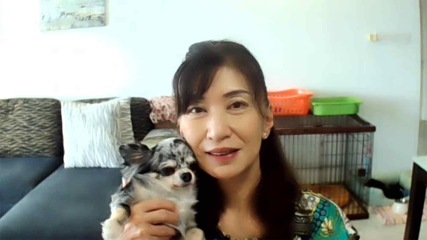 阿部先生と愛犬