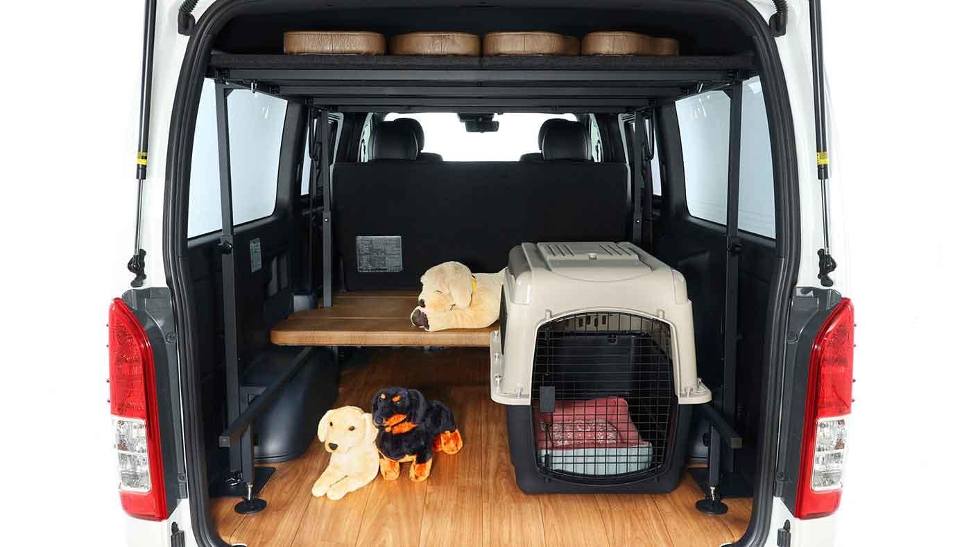 DOG VAN ORIGINAL BedKIT(ドッグバン オリジナルベッドキット)