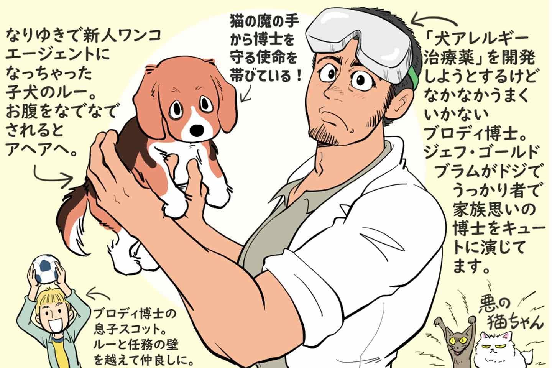 【あらすじ】『キャッツ&ドッグス』がんばれ新米わんわんエージェント!