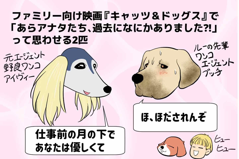 【5つの見どころ】『キャッツ&ドッグス』はスパイ映画だけど可愛いがいっぱい♡