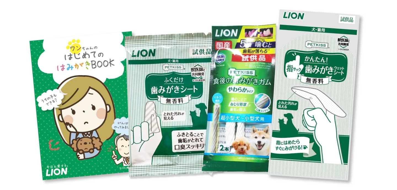 WanQolオンライン歯みがき教室のサンプルセット