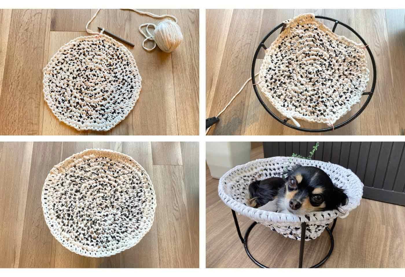 ハンモックの編み方