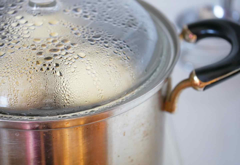 愛犬手作りごはんレシピ 蒸しパン 蒸し器で蒸す