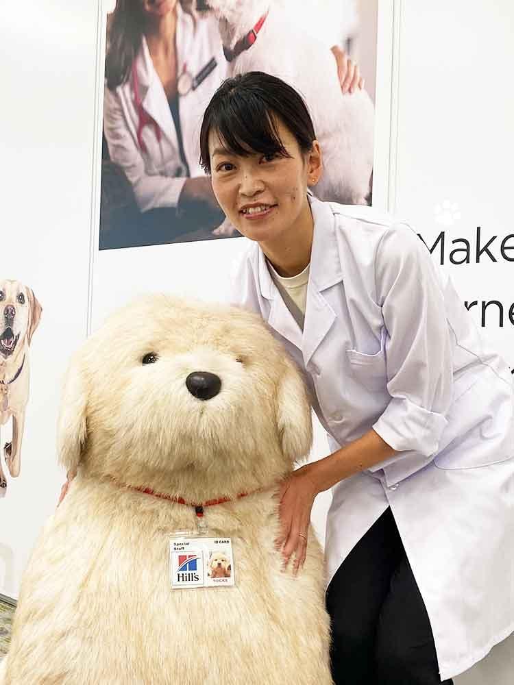 日本ヒルズ・コルゲート所属獣医師 粂井先生