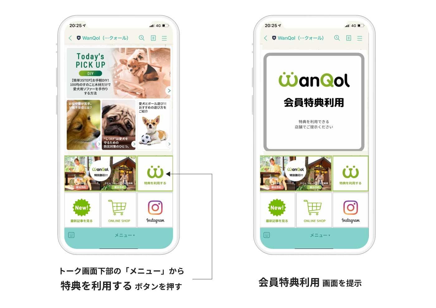 WanQol特典利用方法