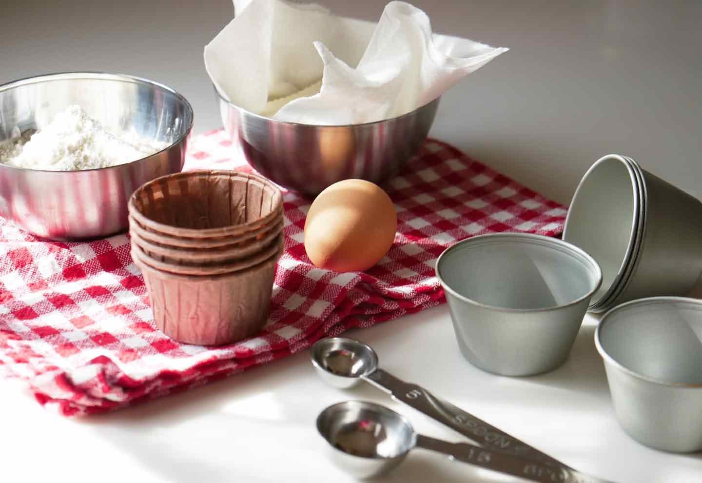 愛犬手作りごはんレシピ 卵 薄力粉 ベーキングパウダー 豆腐 豆乳 ココナッツオイル